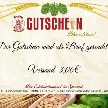 Bierbrauseminar Gutschein